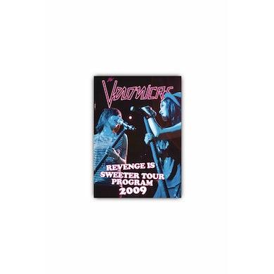 The Veronicas Revenge Is Sweeter Tour Program 2009