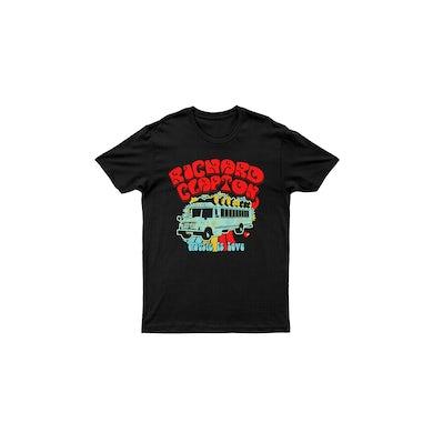 Music Is Love Black Tshirt