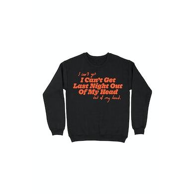 Last Night Black Sweatshirt