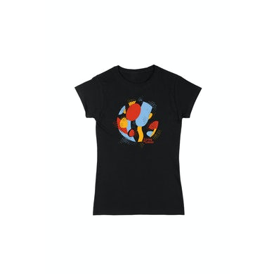 Living In Colour Ladies Black Tshirt