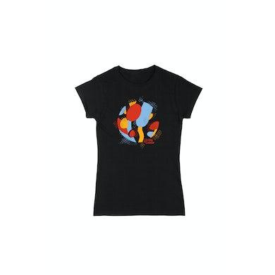 Shane Nicholson Living In Colour Ladies Black Tshirt