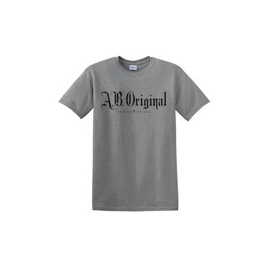 A.B. Original Logo Sports Grey Tshirt