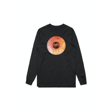 Adrian Eagle Mama Record Black Longsleeve Tshirt
