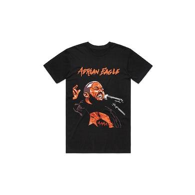 Adrian Eagle Mama Tour Black Tshirt