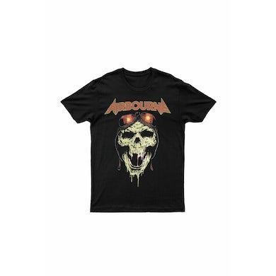 Airbourne Hell Pilot Glow In The Dark Black Tshirt