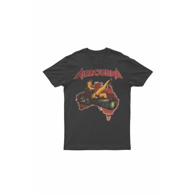 Airbourne Pinup Black Tour 2017 Tshirt