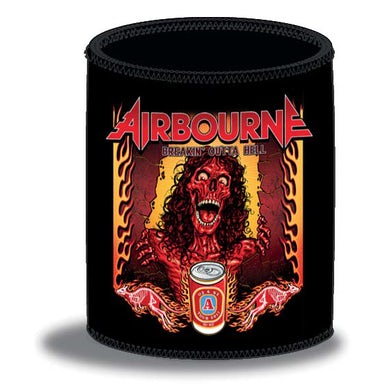 Airbourne Breaking Out Of Hell 2017 Tour Stubby/Can Cooler