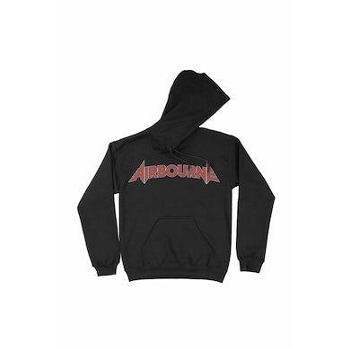Airbourne logo Black Hoodie