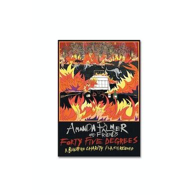 Bushfire Charity Flash Poster Amanda Palmer & Friends. Artwork: Sarah Beetson
