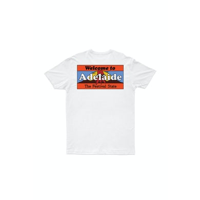 Bad Dreems Welcome To Adelaide White Tshirt