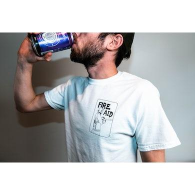 Bad Dreems Fire Aid Fundraiser White T Shirt
