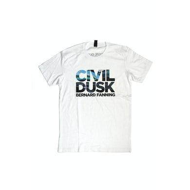 Bernard Fanning Civil Dusk White Tshirt