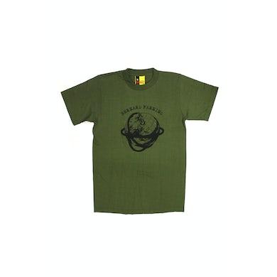 Bernard Fanning Globe Green Tshirt