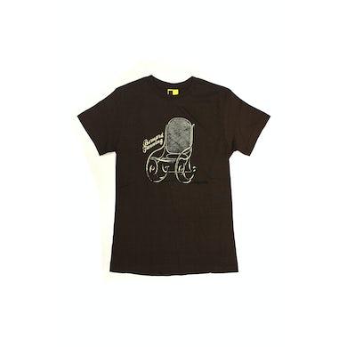 Bernard Fanning Brown Chair Ladies Tshirt