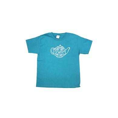 Bernard Fanning Kids Teapot Jade Tshirt