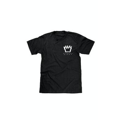 Between Kings Logo Black Tshirt