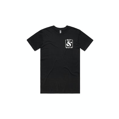 Boy & Bear Ampersand Black Tshirt
