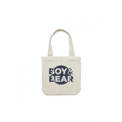 Boy & Bear Natural Tote Bag