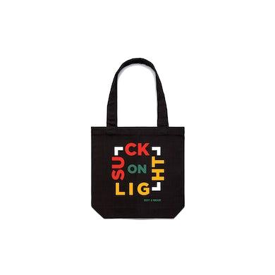 Boy & Bear Suck On Light Tote Bag Black