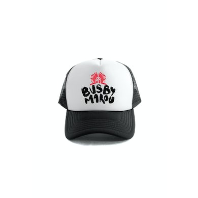 Black White Black Trucker