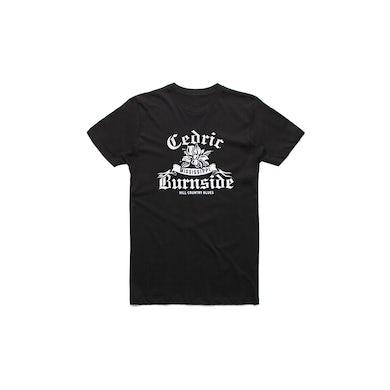 Cedric Burnside Magnolia Black Tshirt w/dates
