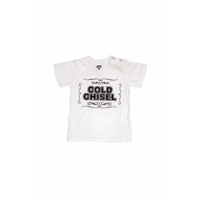Cold Chisel Vintage Logo White Kids Tee