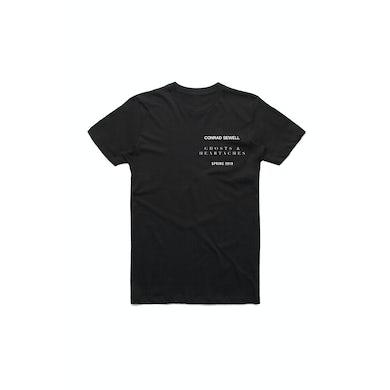 Conrad Sewell Healing Hands Black Tshirt