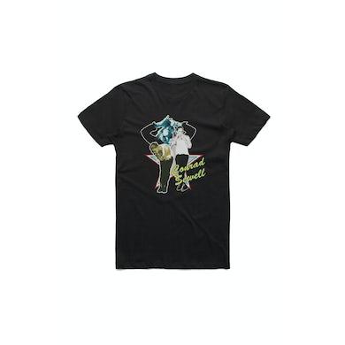 Conrad Sewell Star Pic Black Tshirt w/dateback