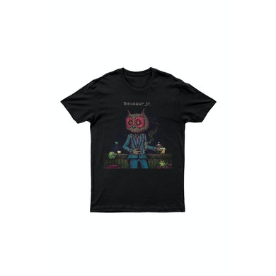 Dinosaur Jr. Owl Man Black Tshirt