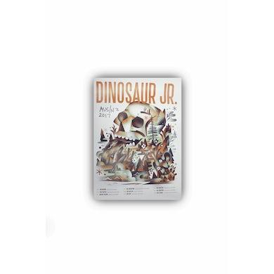 Dinosaur Jr. Poster 2017 Tour