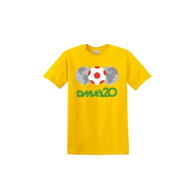 DMA'S Mexico 86 Yellow Tshirt