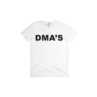 DMA'S White T Shirt Album Font