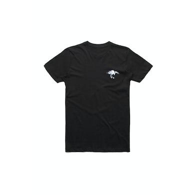 DMA'S Pocket Ibis Black Tshirt