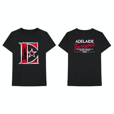 Elton John Event Adelaide Black Tshirt