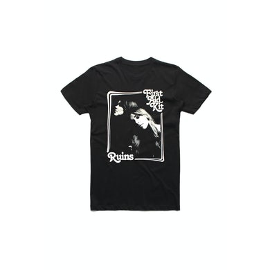 First Aid Kit Black Ruins Tshirt w/dateback