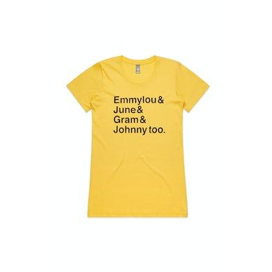 First Aid Kit Yellow Tshirt