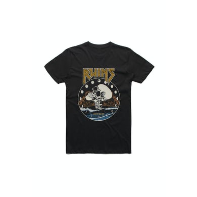 First Aid Kit Black Ruins Girls Skull Tshirt