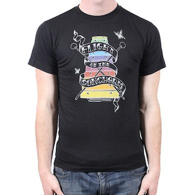 Flight Of The Conchords Rockenspiel Black Tshirt
