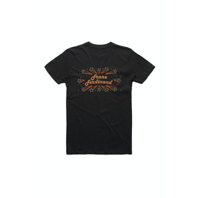Franz Ferdinand Barrowlands Black Tshirt