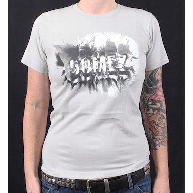 Gomez Grey Splash Tshirt Australian Tour 2011