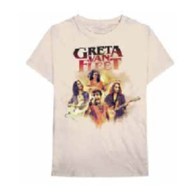Greta Van Fleet Admat Tour Tshirt