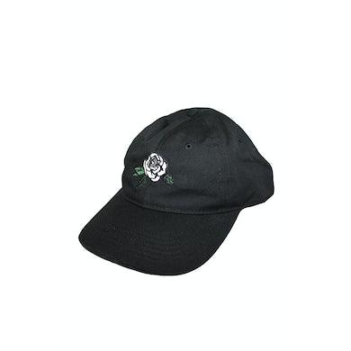 Greta Van Fleet Dad Cap (Black) Emroidered Rose