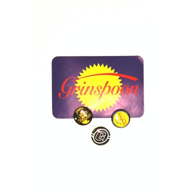 Grinspoon Badge/Sticket Set