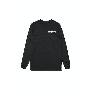 Grinspoon Flame Fink Long Sleeve Black Tshirt