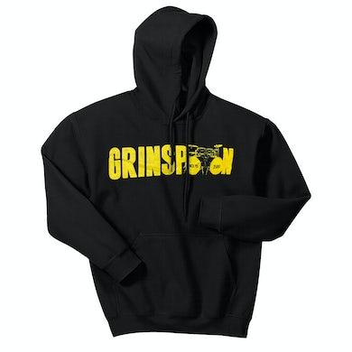 Grinspoon Kick Drums Black Hoody