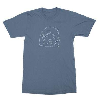 Hannah Gadsby Douglas Blue Tshirt
