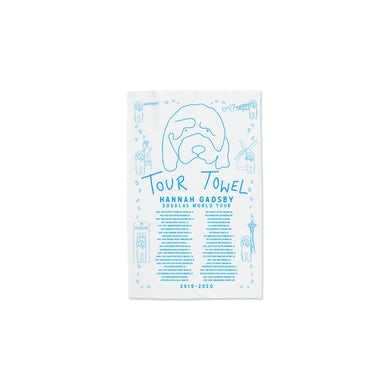 Hannah Gadsby Tea Towel