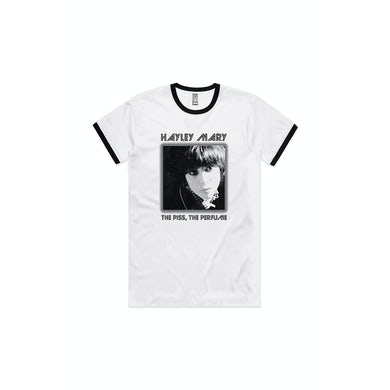 Hayley Mary The Piss the Perfume Ringer Tshirt
