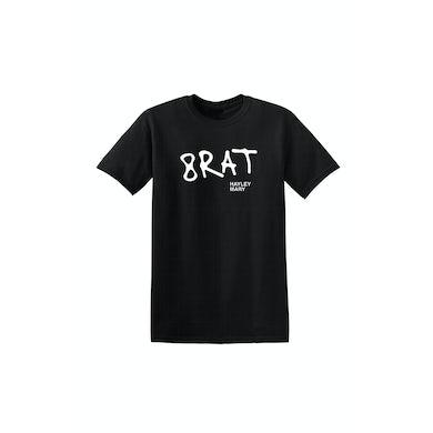 Hayley Mary Brat Black Tshirt