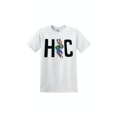 Hunters & Collectors Logo and Photo White Tshirt